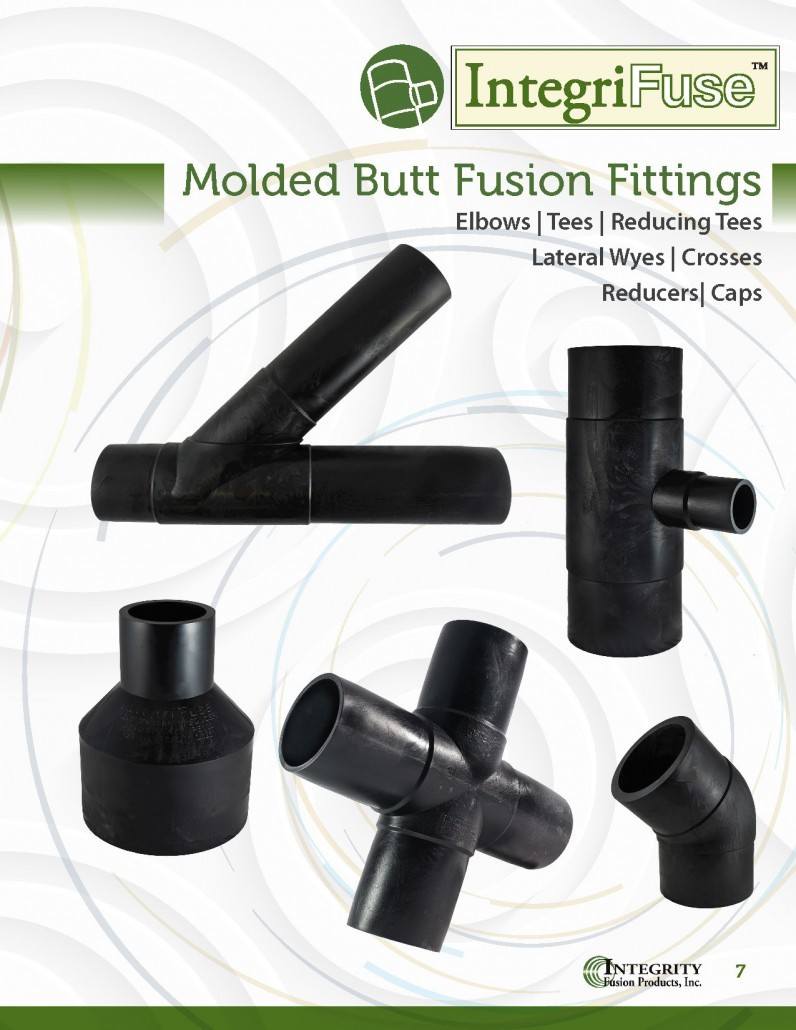 Molded Butt Fusion - HDPE Fittings - Integrity Fusion